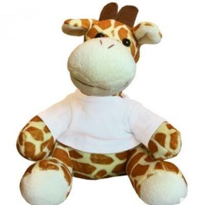 Giraf met t-shirtje