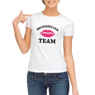 Shirt vrijgezellen team dames