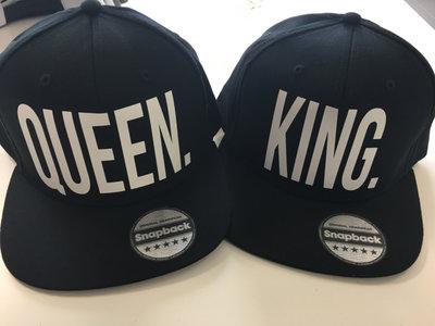 Snapback Cap King & Queen