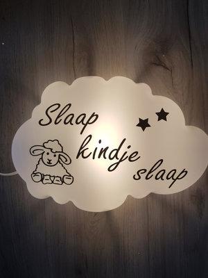 """Wandlampje """"slaap kindje slaap"""""""
