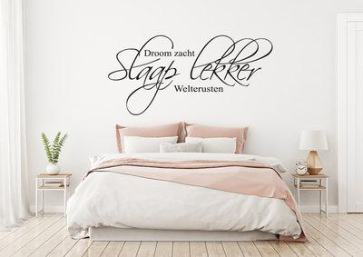 Muursticker Slaaplekker