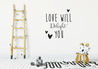 Muursticker Love will