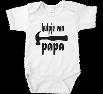 """Romper met tekst """"Hulpje van Papa"""""""