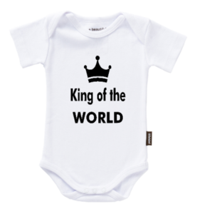 "Romper met tekst ""King of the World"""